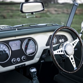 Morgan Roadster Interior