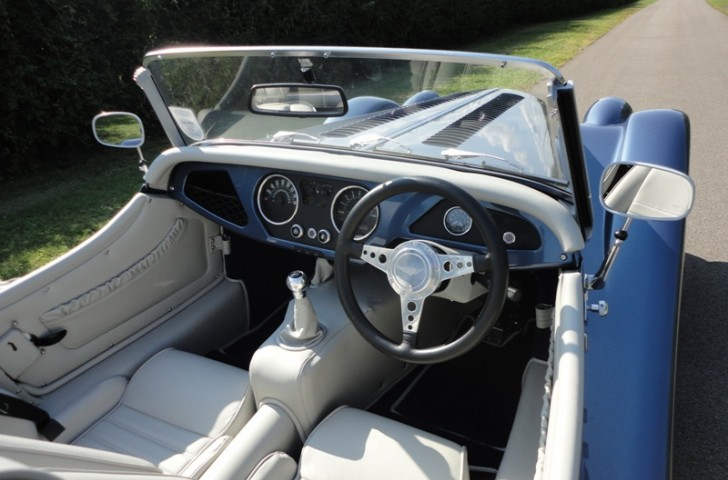 Morgan interior trim