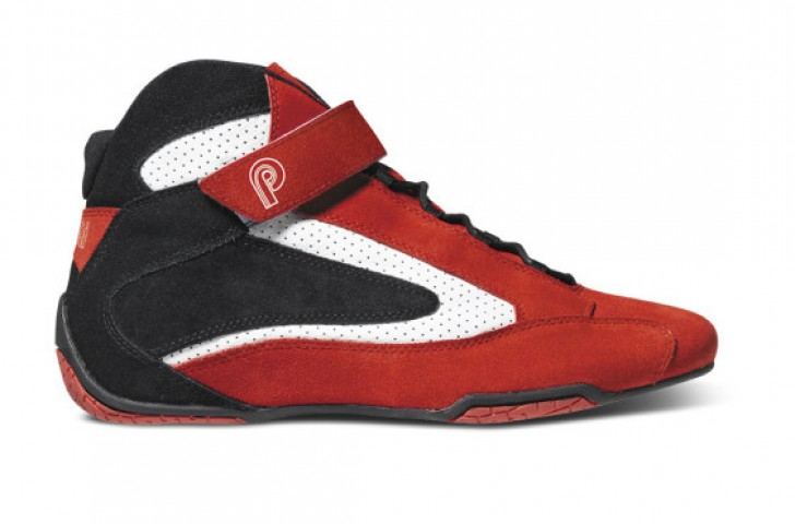 Piloti leather and suede driving shoes