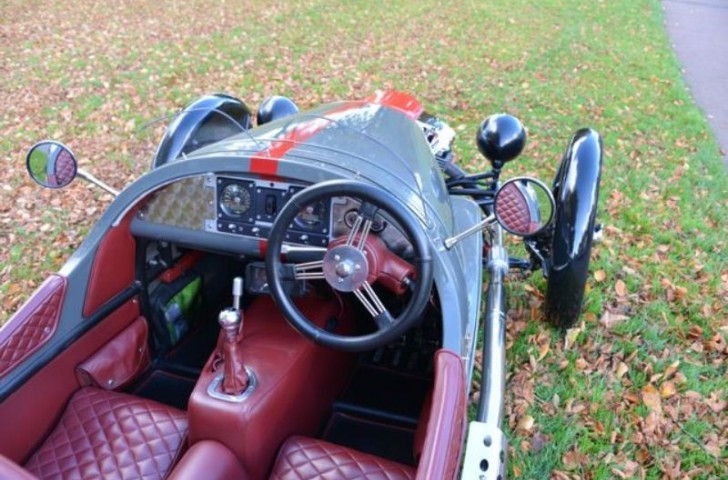 Morgan 3 Wheeler Interior Trim