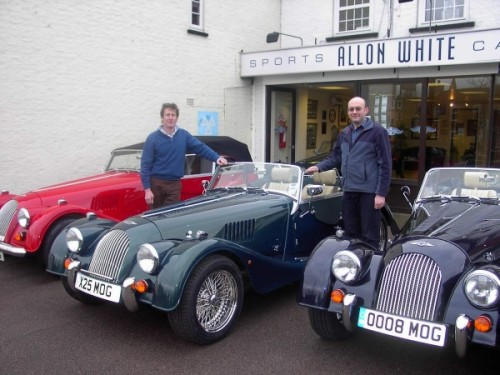 Morgans at Allon White Sports Cars