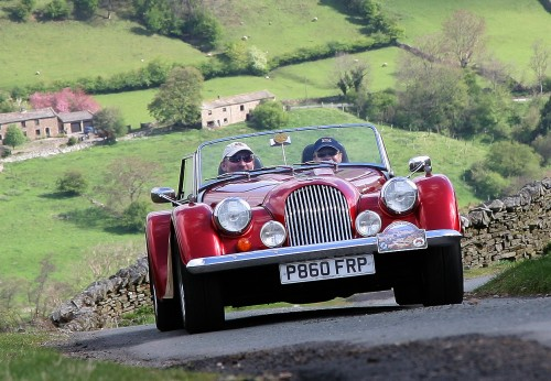 Morgan sports car hire