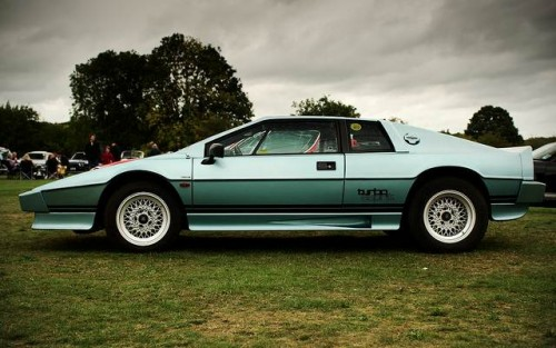 Lotus Esprit Turbo.  Courtesy of Matt Hoskins