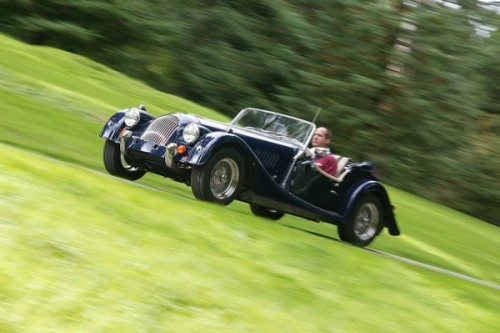 Morgan cars for hire: up, up and away...