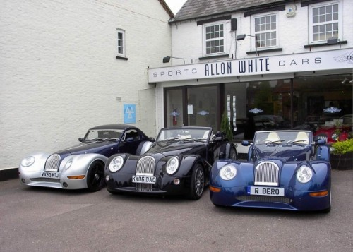 Morgan Cars at Allon White Sports Cars