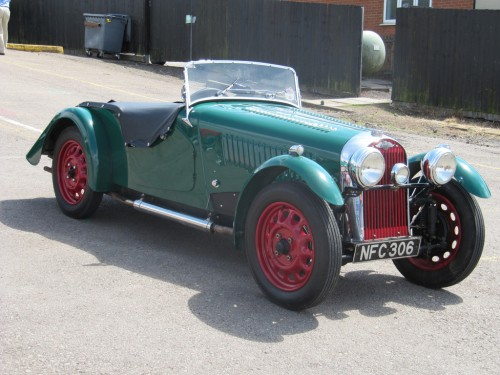 1948 Morgan 4-4.  Courtesy of Charlesworth & Son