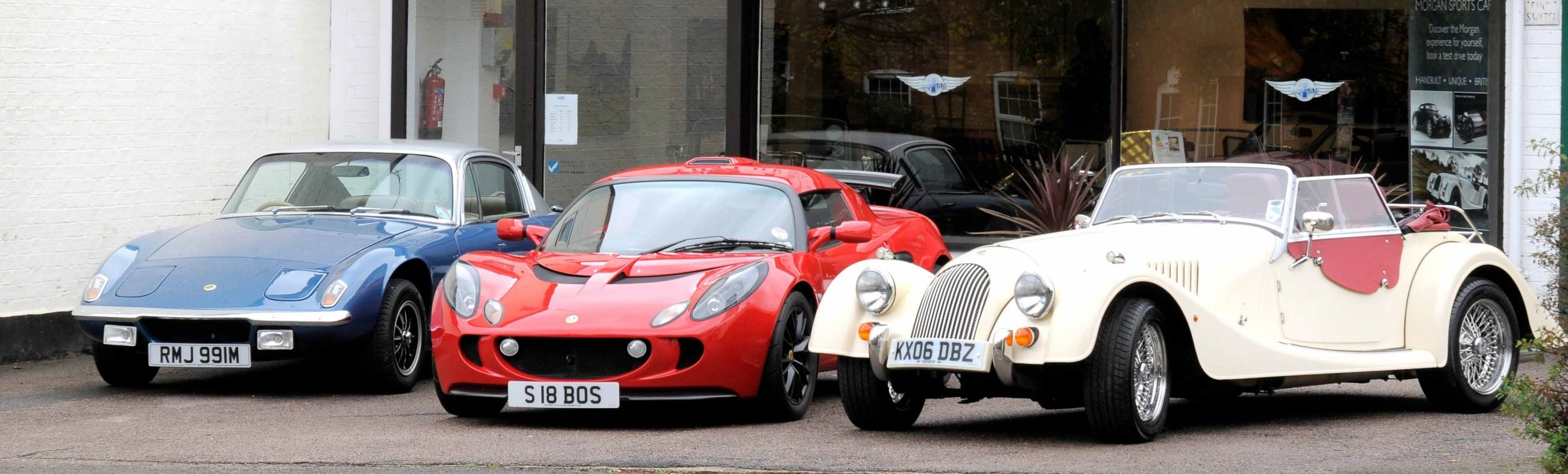 Allon White Sports Cars Lotus and Morgan