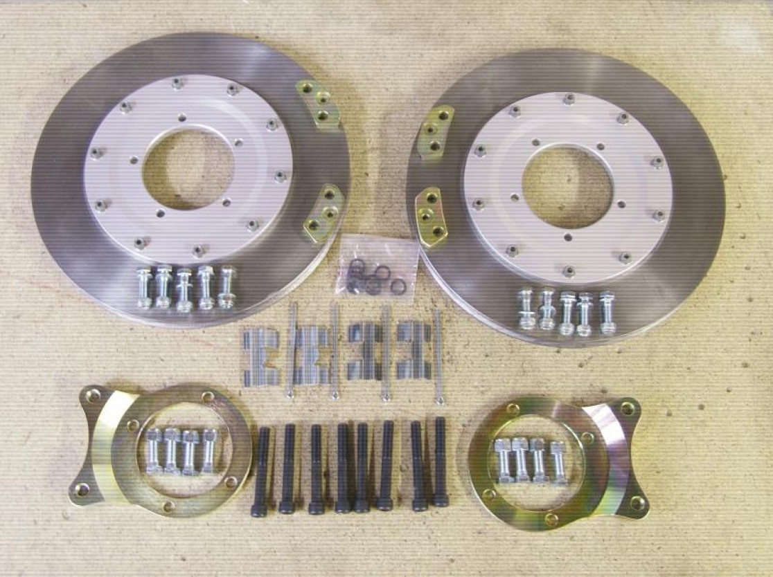 Morgan 300mm vented brake disc kit