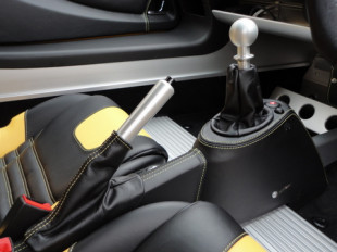S2 Elise or Exige centre console trimmed in leather
