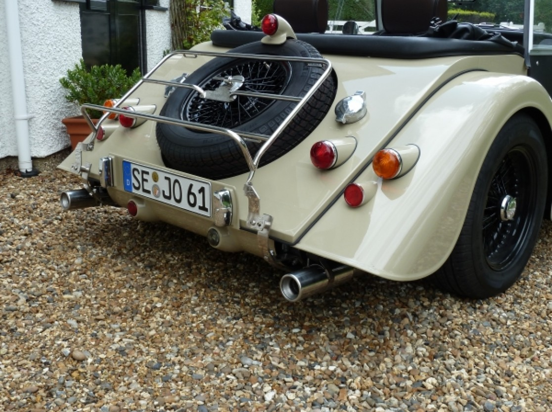Librands Sports Exhaust for Morgan Roadster
