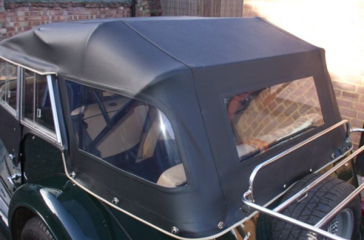 Original design Morgan car hood