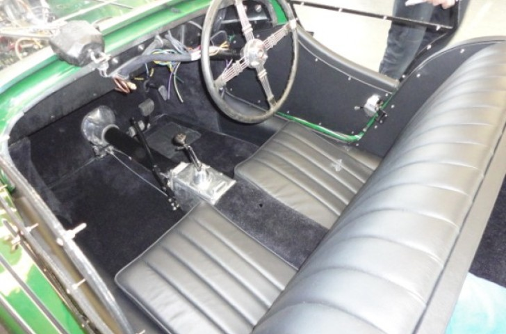 Full interior retrim for Morgan