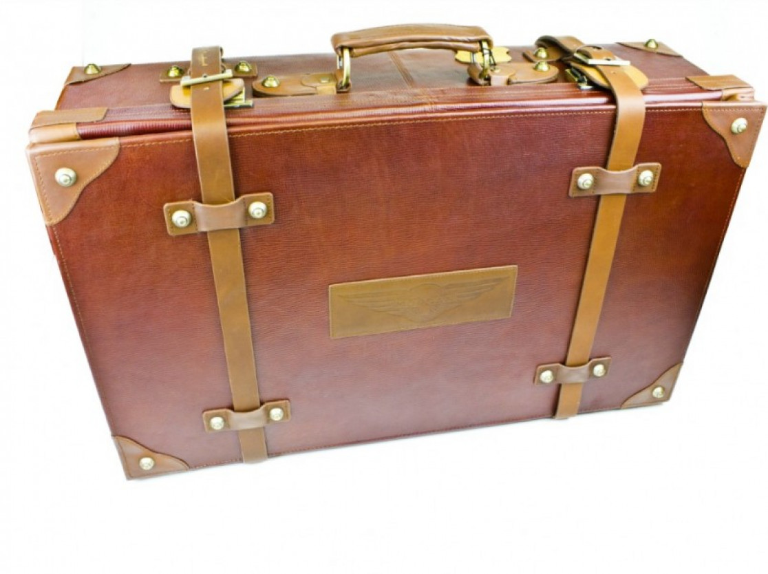 Morgan Leather Suitcase
