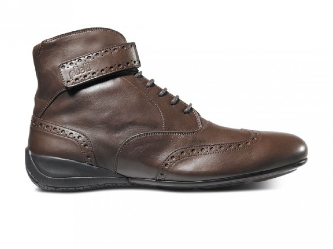 Piloti Campione shoe in brown leather