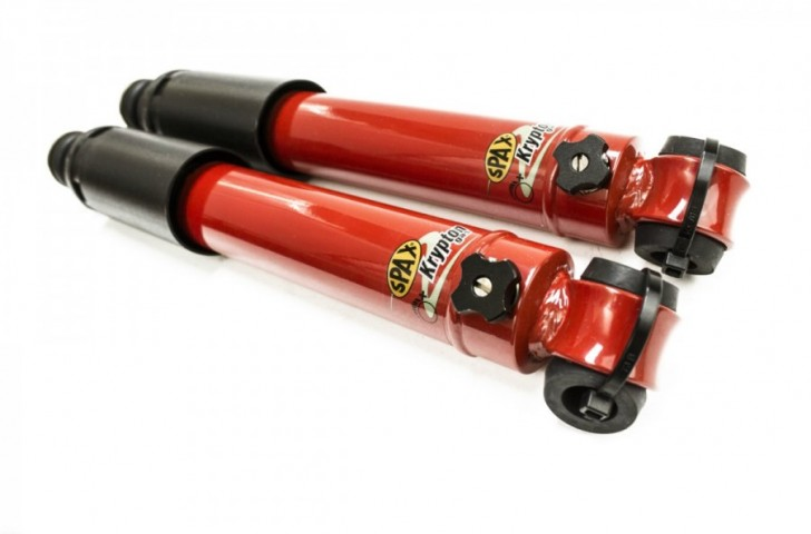 Spax adjustable shock absorbers for classic Morgans