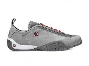 Piloti Spyder in grey suede