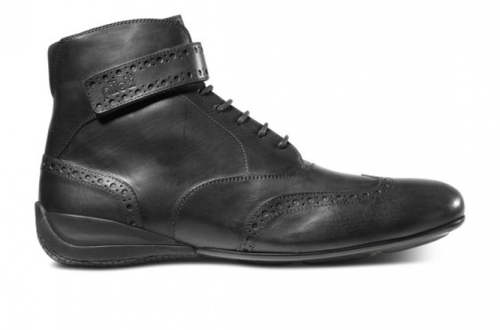 Piloti Campione shoe in black leather